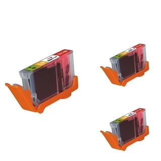 Refilled Insten Red Non-OEM Ink Cartridge Replacement for Canon CLI-8R/ 8 R