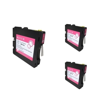 INSTEN Magenta Ink Cartridge Compatible for Ricoh GC31/ GC31H