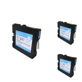 INSTEN Cyan Ink Cartridge Compatible for Ricoh GC31/ GC31H