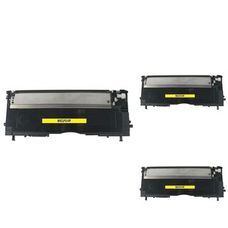 Refilled Insten Yellow Non-OEM Toner Cartridge Replacement for Samsung