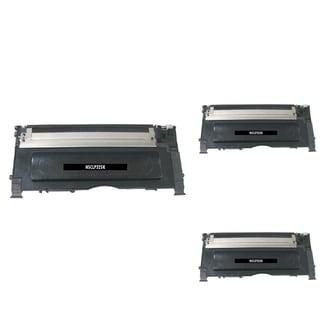 Insten Premium Black Color Toner Cartridge CLT-K407S for Samsung CLP-320/ 325