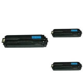 INSTEN Cyan Toner Cartridge for Samsung CLT-C504S/ CLP-415NW