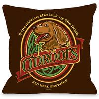 Odrools Throw Pillow