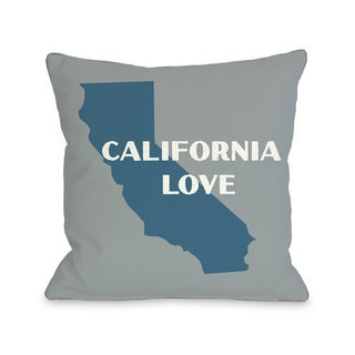 California Love Throw Pillow