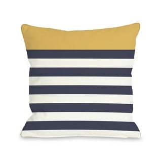 Nautical Mimosa Throw Pillow