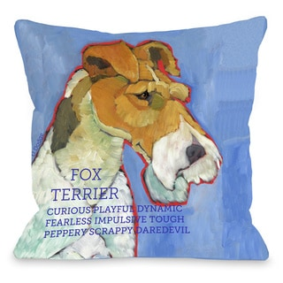 Link to Terrier 2 Throw Pillow Similar Items in Decorative Accessories