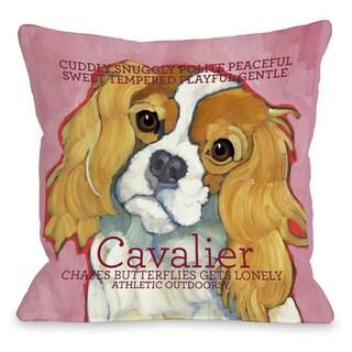 Cavalier Throw Pillow
