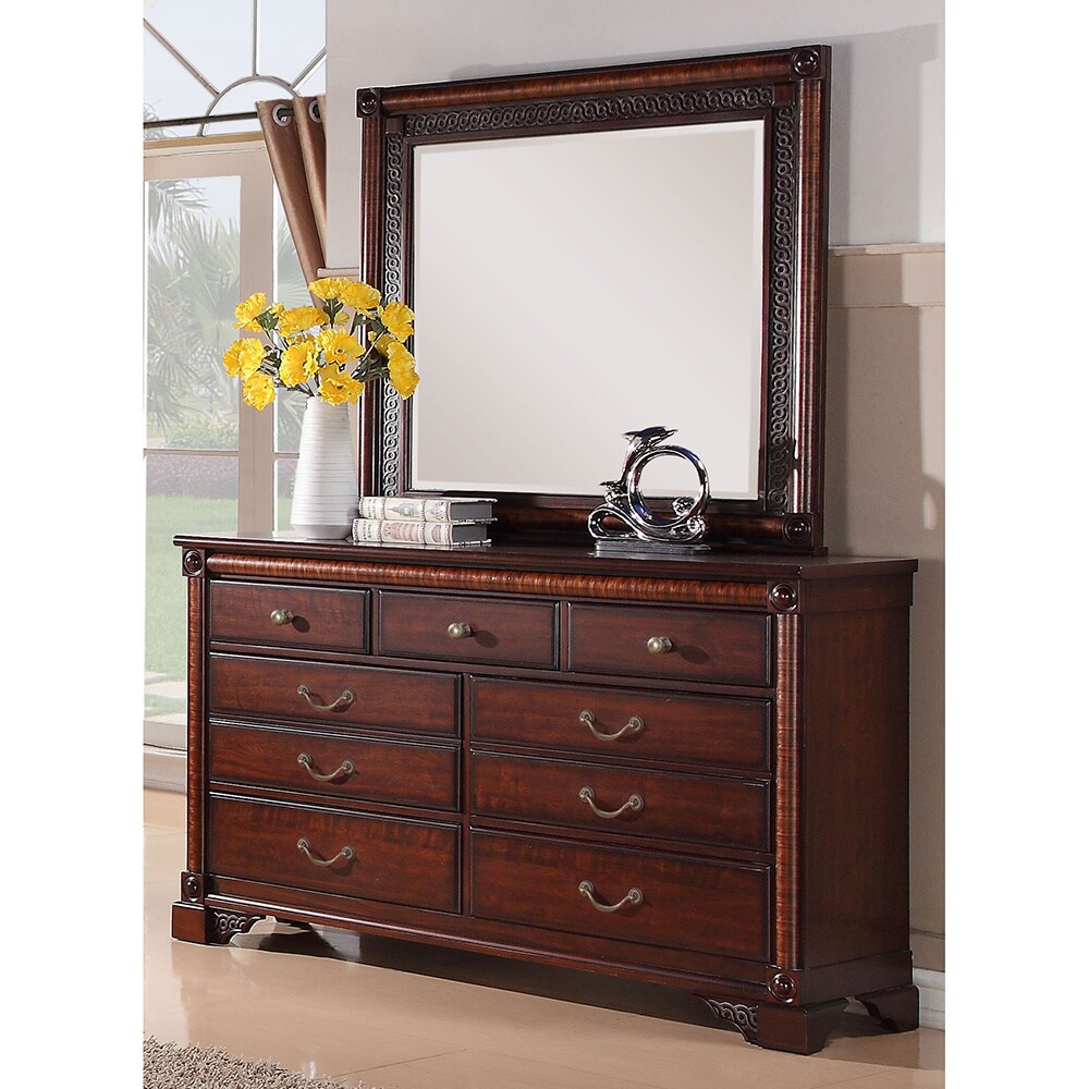 Picket House Rhapsody 7 Drawer Dresser And Optional Mirror Overstock 8441630