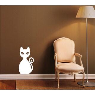 House Cat Vinyl Wall Decal