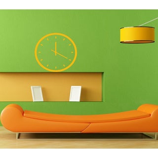 Beautiful Clock on the Wall Vinyl Wall Decal