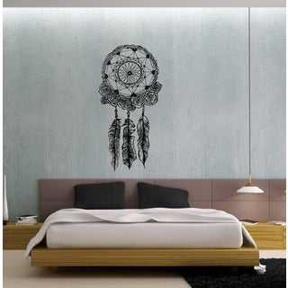 Dreamcatcher Black Vinyl Wall Decal