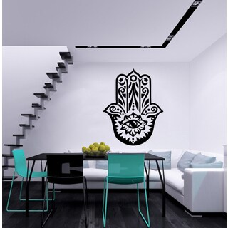Hamsa Hand Vinyl Wall Decal