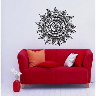 Sun Vinyl Wall Decal