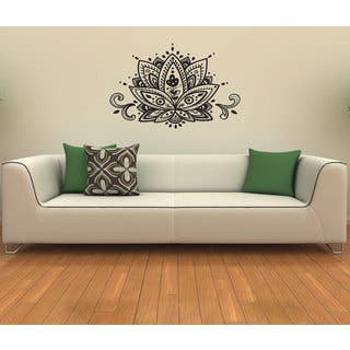 Lotus Flower Vinyl Wall Decal|https://ak1.ostkcdn.com/images/products/8441691/8441691/Lotus-Flower-Vinyl-Wall-Decal-P15736570.jpg?impolicy=medium