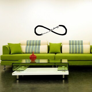 Infinity Sign Vinyl Wall Decal
