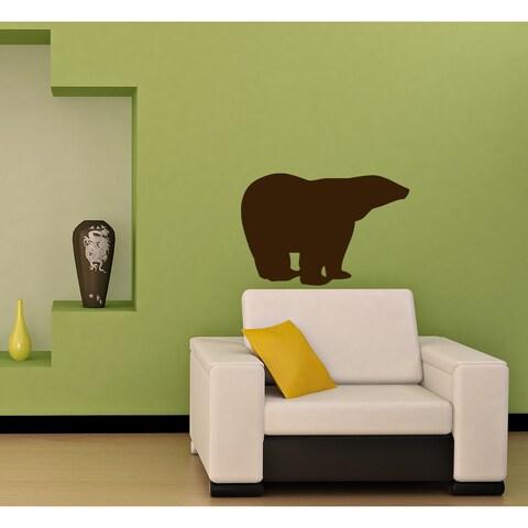 Northern Bear Vinyl Wall Decal