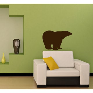 Northern Bear Vinyl Wall Decal