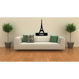 Paris Eiffel Tower Sights Cities Of The World Vinyl Wall Decal
