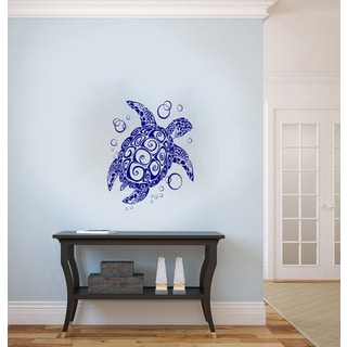 Sea Turtle Vinyl Wall Decal