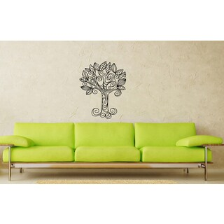 Tree Ornament Vinyl Wall Decal