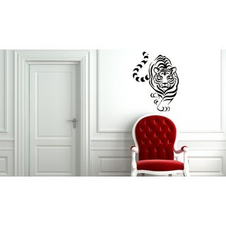 Graceful Tiger Vinyl Wall Decal
