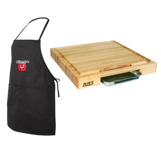 john boos pm18180225p 18x18x225 cutting board with drip pan free shipping today - Boos Cutting Board
