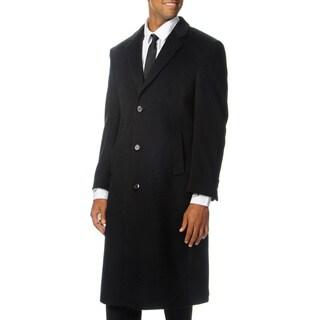 Cianni Cellini Men's 'Harvard' Black Wool Blend Long Top Coat|https://ak1.ostkcdn.com/images/products/8441931/Cianni-Cellini-Mens-Harvard-Black-Wool-Blend-Long-Top-Coat-P15736776.jpg?_ostk_perf_=percv&impolicy=medium