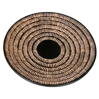 Chulucan Footed Platter Handcrafted in Peru