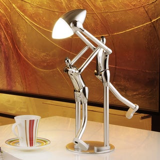 Silver Sportsmanship Desk Lamp