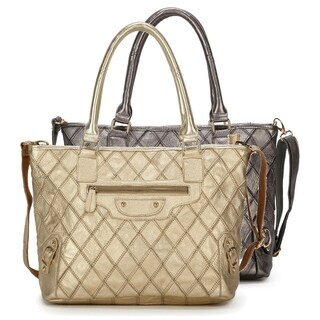 Ann Creek Women's 'Hartswood' Leather Satchel Bag