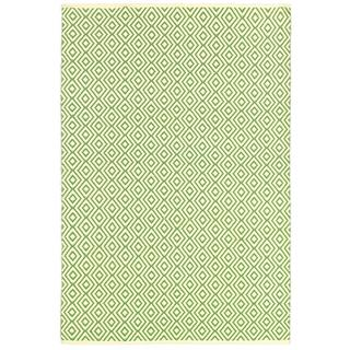 Indo Hand-woven 'George Town' Ivory/Sage Polypropylene Rug (3' x 5')