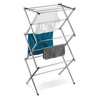 Honey Can Do Slim Chrome Commercial Drying Rack