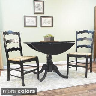 Antique Black Lyon Dining Set
