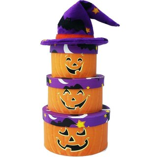 Pumpkin Patch Halloween Chocolate and Candy Gift Tower