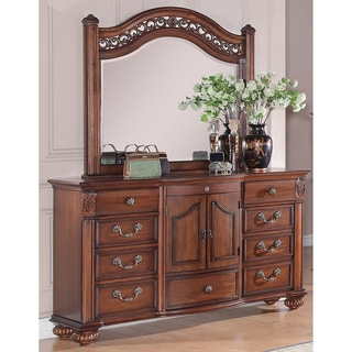 Picket House Furnishings Barrow Dresser & Mirror Set