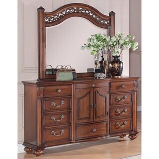 Picket House Furnishings Barrow Dresser & Mirror Set