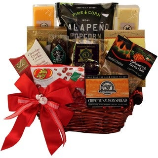 Some Like it Hot Spicy Snack Gift Basket