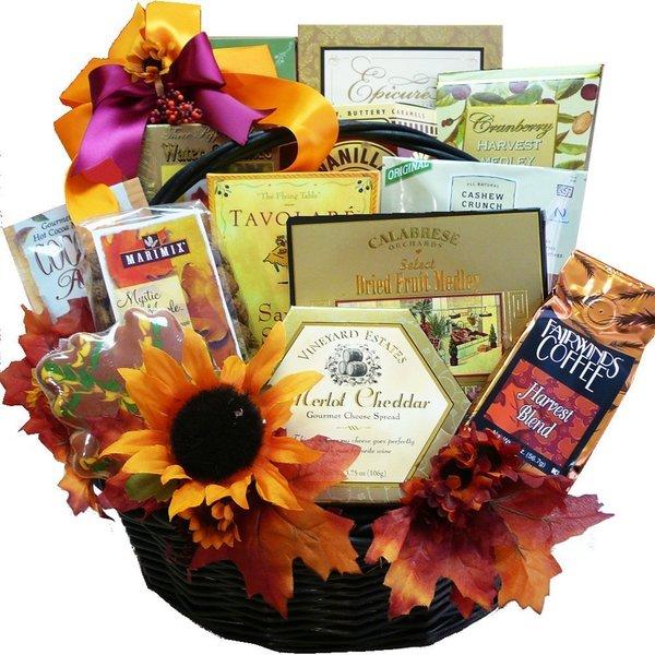 Fall Fantasy Thanksgiving Gourmet Food/ Snacks Gift Basket