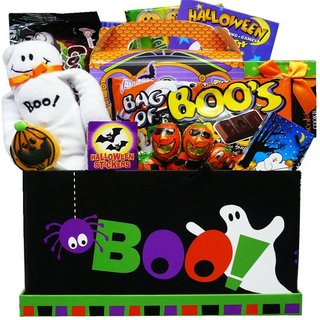 Boo To You Halloween Chocolate and CandyCare Package Gift Box