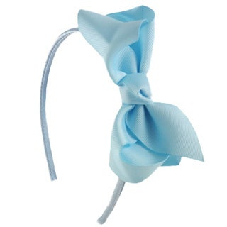 Light Blue Headband and Bow