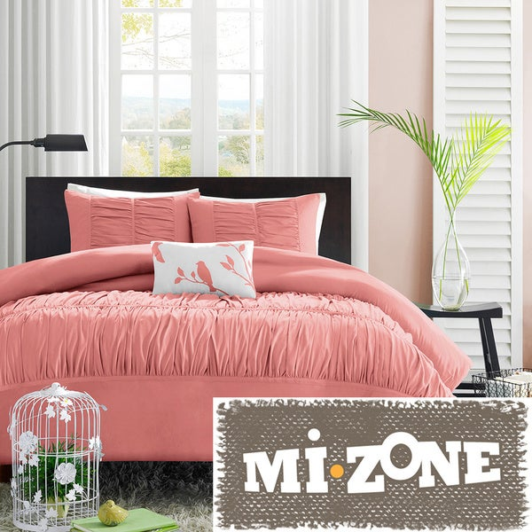Mi Zone Lorena 4-piece Duvet Cover Set