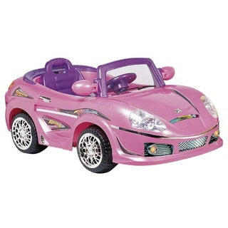 Best Ride On Cars Pink Ride-On Convertible