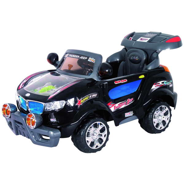 Best Ride On Cars Black Thunder Ride-On Jeep