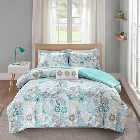 The Curated Nomad Stanyan Blue Comforter Set