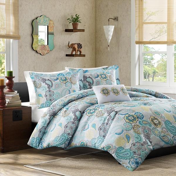 Mi Zone Simi Blue Comforter Set