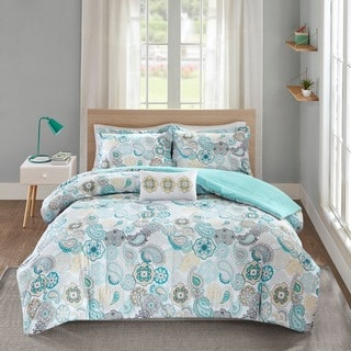 Mi Zone Simi Blue Comforter Set - Thumbnail 0