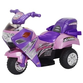 Best Ride On Cars Lil Pink Ride-On Motorcycle