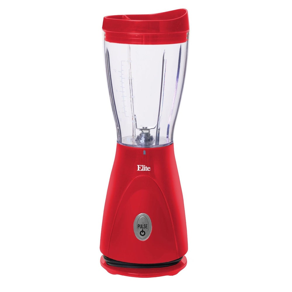 Maxi Matic Elite Cuisine Red 14-ounce Personal Blender (S...