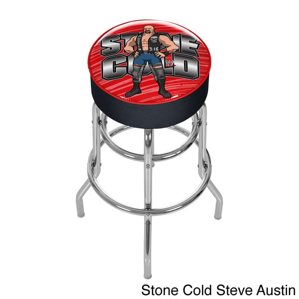 WWE 31-inch Kids Padded Bar Stool