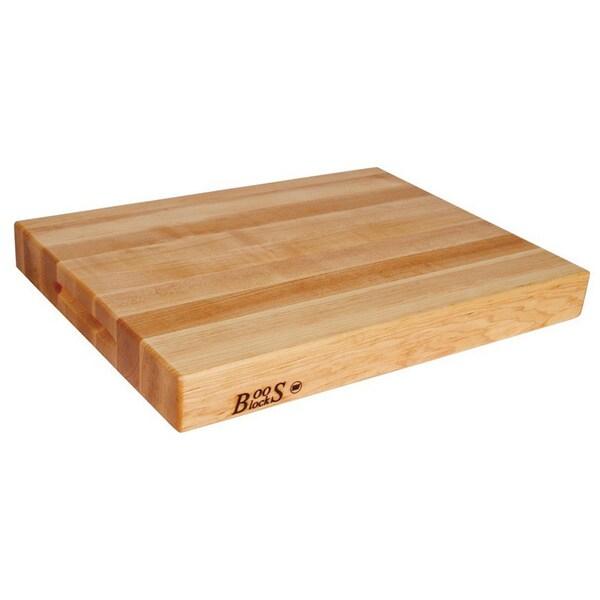 John Boos RA03 Maple 24x18x2.25 Cutting Board with Grips